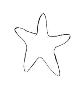 st 1 277x300 How to Draw a Starfish
