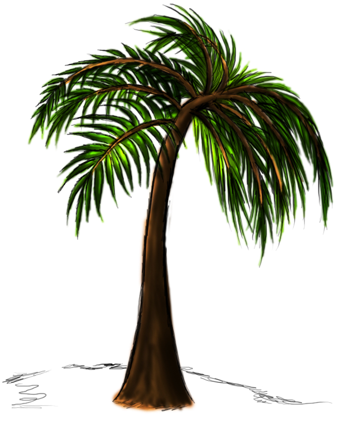 how to draw a tree photoshop