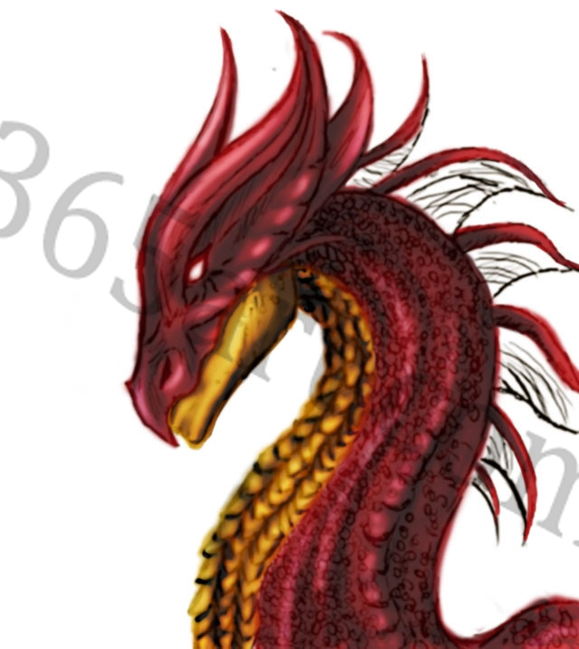 dr 4 Making of the ruby dragon
