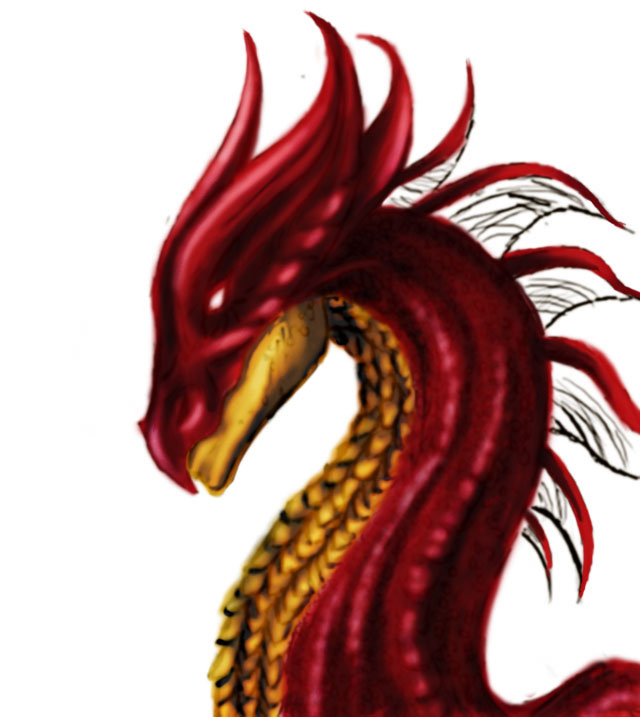 dr 5 Making of the ruby dragon