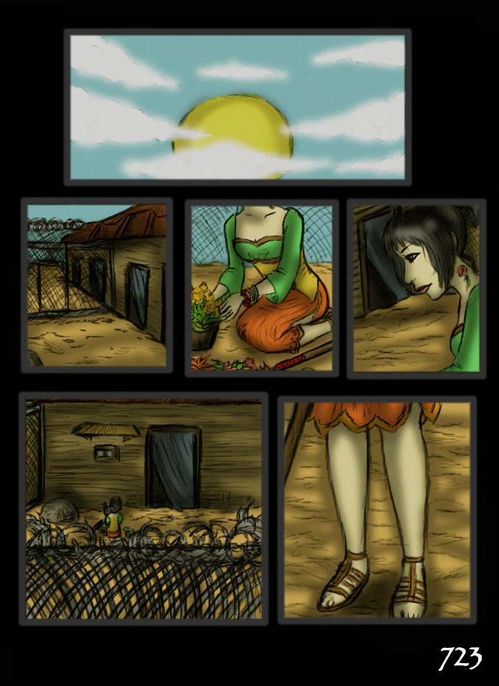 chp1pg723 Day #218 Silent Comic Page