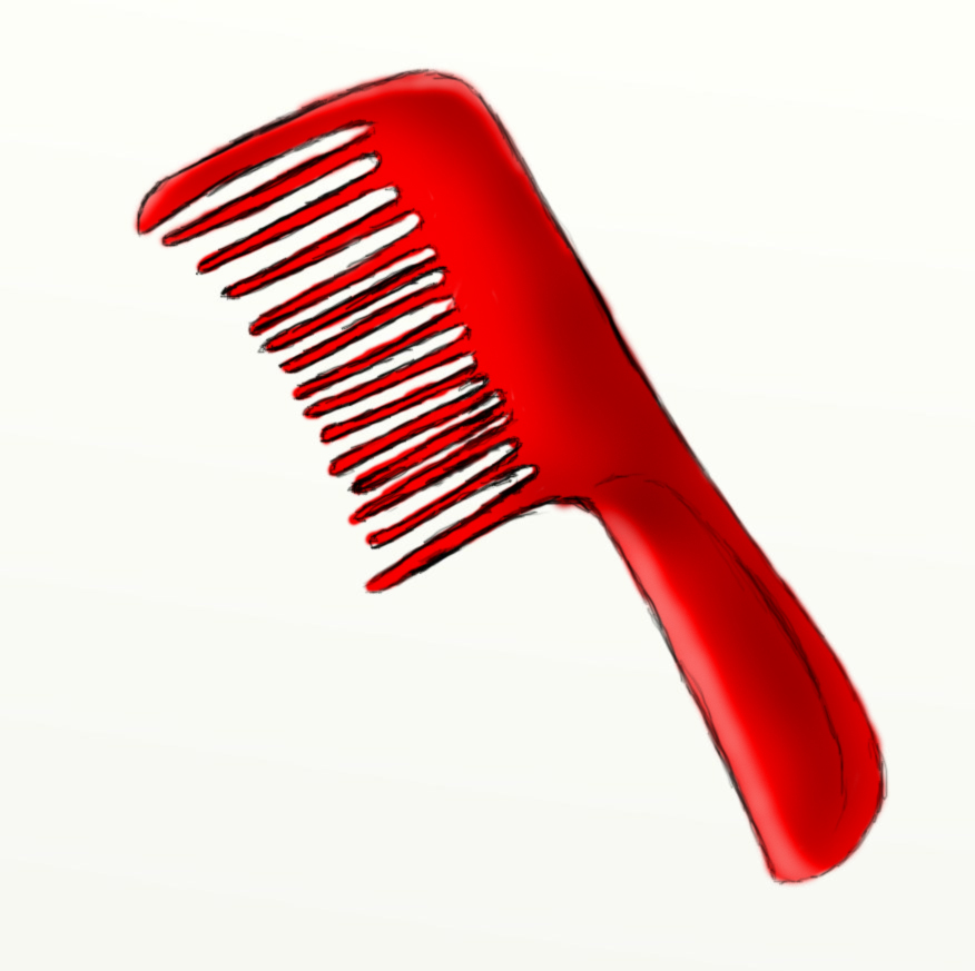 comb Day #228 The Red Comb