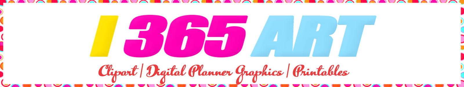 Clipart, Digital Planner Graphics and Printables