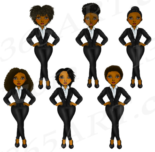 Working Woman Clipart