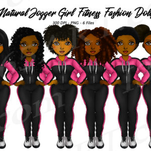 Track Suit Black Girls Clipart