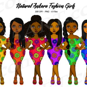 Ankara Fashion Clipart
