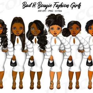 Bougie Black Girl Clipart