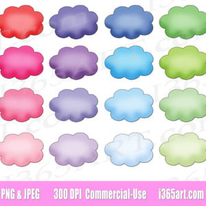 cloud bubble clipart